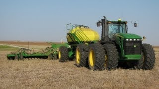 Planting Wheat with JD Air Seeder- GoPro Footage