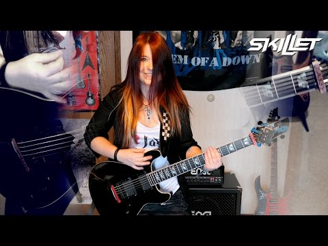 SKILLET - Monster [GUITAR COVER] | Jassy J