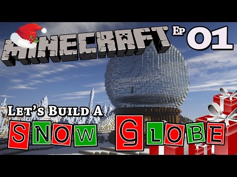 Christmas Snow Globe :: How To Build :: Minecraft :: E1