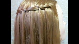Прическа : Французский водопад. Quick hairstyle(В этом видео я вам покажу как сделать красивую прическу на каждый день. Музыка из видео: http://www.youtube.com/user/TheQLon..., 2013-02-03T11:39:35.000Z)