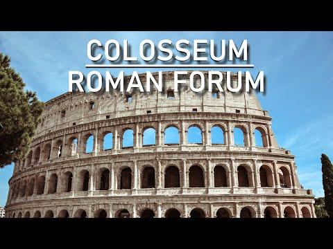 The Colosseum & the Roman Forum