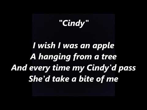 Cindy, Cindi, Cyndy Cyndi folk song LYRICS WORDS BEST TOP POPULAR FAVORITE TRENDING SING ALONG SONGS