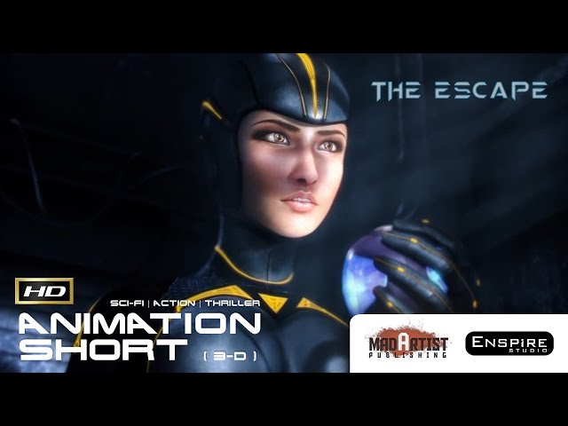 THE ESCAPE | Thrilling escape in the Futuristic world - Sci-Fi Action Short by Enspire Studio