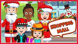 My Town Shopping Mall: Christmas, Santa Dress Up, Fun Games For Children, Kids To Play