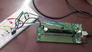 Code composer studio four led blink using TMS320f28335