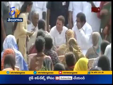 Rahul Gandhi Visits Cyclone Ockhi Hit Districts   in Kerala & Tamil Nadu