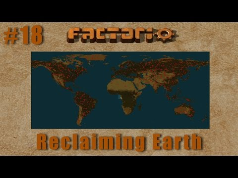 Factorio Multiplayer - Reclaiming Earth EP18 :: Land Bridge & Train Rails!