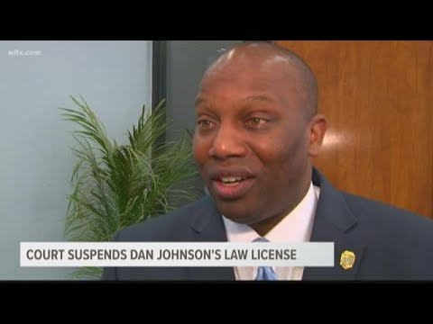 Dan Johnson Law License Suspended