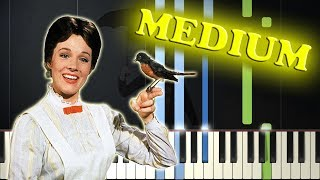 MARY POPPINS - FEED THE BIRDS - Piano Tutorial