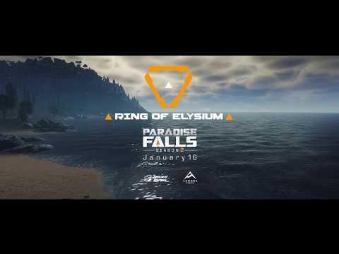 Новый сезон Ring of Elysium с картой вулканического острова, субмаринами и BMX