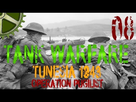 Let's Play:  Tank Warfare Tunisia 1943, Operation Pugilist - 08 - All Infantry Defense (2/2)