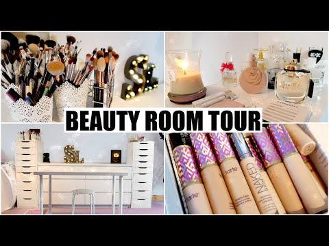 Beauty Room Tour & Makeup Organisation | STEPHANIE LANGE