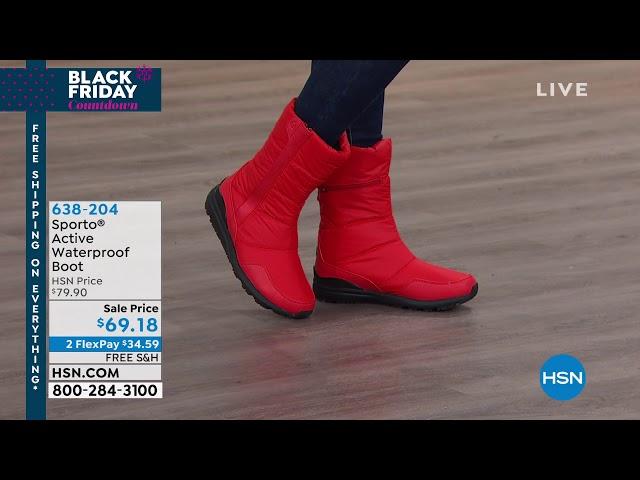 Sporto Active Waterproof Boot - YouTube