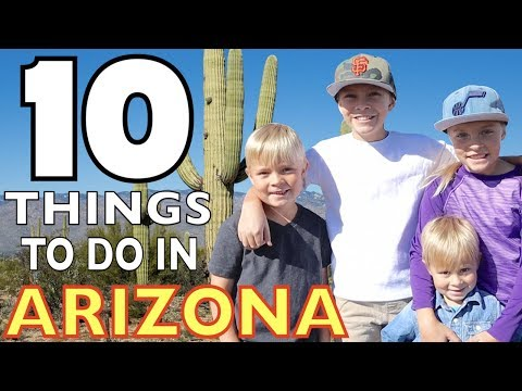🌵10 THINGS TO DO IN ARIZONA 🦂