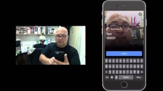 Видеоурок на ЖЯ - как начать живую трансляцию на фейсбуке