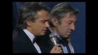 Hommage à Serge Gainsbourg « La javanaise » Les Victoires de la musique 1990