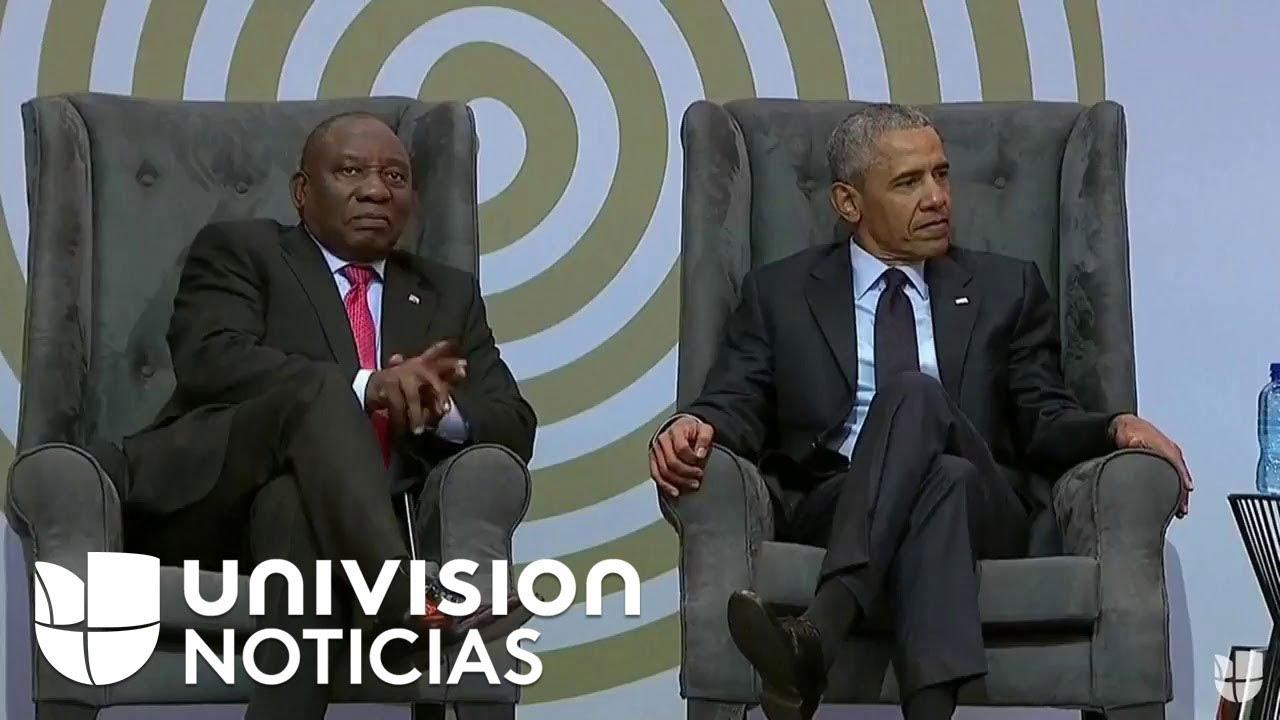 Barack Obama da discurso en la conmemoración del aniversario 100 del nacimiento de Mandela