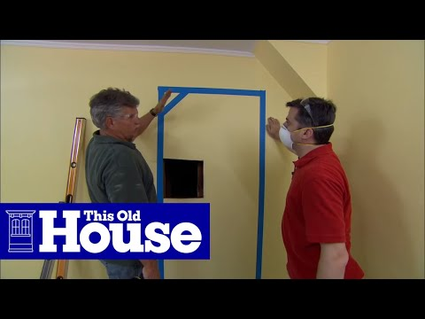 How To Create An Interior Door Opening This Old House Youtube