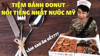 CrisDevilGamer ĂN NÚI DONUT Ở TIỆM DONUT NỔI TIẾNG NHẤT NƯỚC MỸ | Tối nay ăn gì?