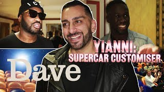 Yianni: The Supercar Customiser Celebrity Launch With Bacary Sagna, Lethal Bizzle, Sam STG