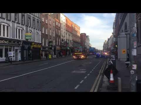Dublin Fire Brigade - Four Units Responding!