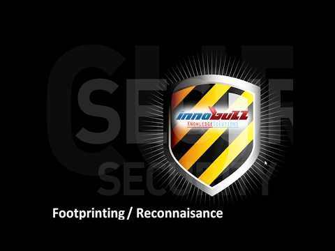 Module 3 – Foot printing/Reconnaissance