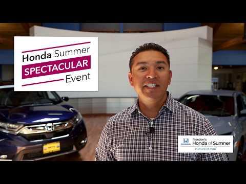 Honda Summer Spectacular Event | Rairdon's Honda of Sumner
