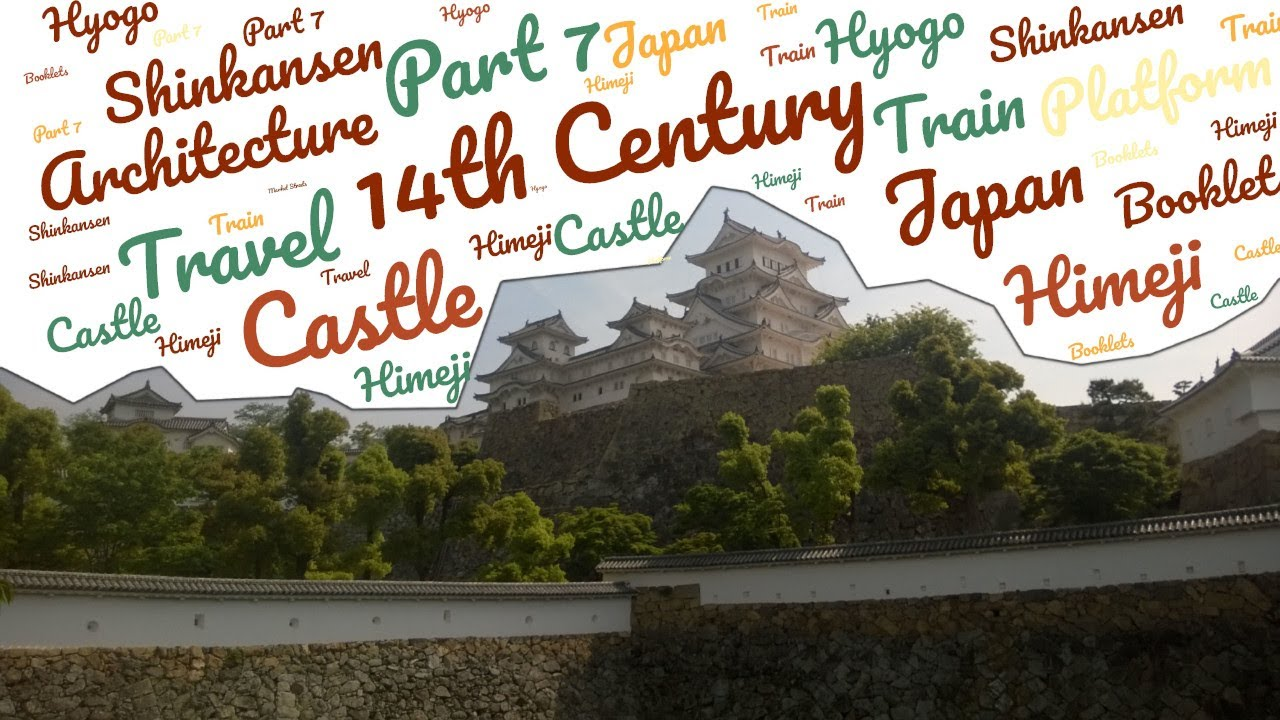 Himeji Castle  - First Time Solo Japan Travel Vlog by foreigner * Part 7 * No Talking *