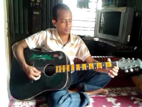 o haseena zulfon wali guitar by ajit from agartala