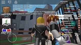 Roblox muder com meu irmão só morro ksk(canal do gamer)