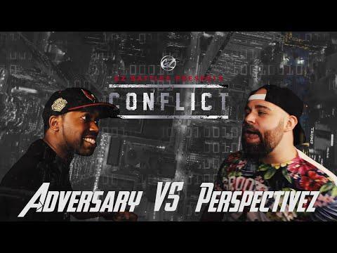 KOTD - Rap Battle - Adversary vs Perspectivez | #GZ