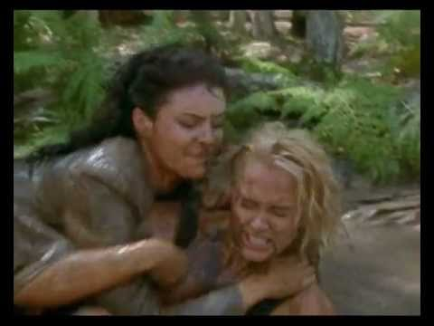 Jennifer O'dell & Rachel Blakely  Mud Fight The Lost World