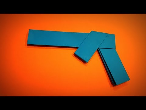 Origami Gun | How to Make a Paper Gun (Paper Pistol) | Easy Origami ART | Paper Crafts