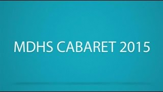 MDHS Cabaret 2015 - The Very Thought of You - Third Stream