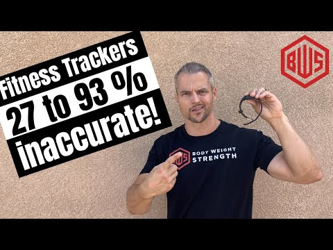 Your fitness tracker sucks! (Why using them to make dietary changes is a mistake!)
