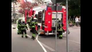 Feuerwehrübung Sindelfingen