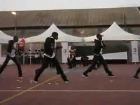 DANCE4ME Congo-performance Arbre de noël 2011-TOTAL E&P CONGO