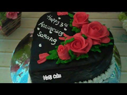 Kue Ulang Tahun Pernikahan Anniversary Cake Youtube