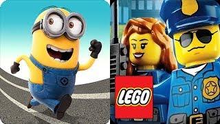Despicable Me Minion Rush vs LEGO City game