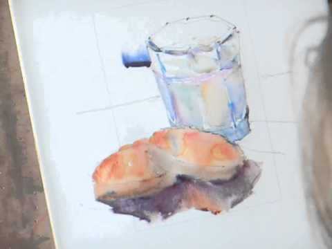 How to Paint in Watercolour  Chocolate Chip Cookies! 11