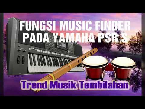 FUNGTI TOMBOL MUSIC FINDER YAMAHA PSR S