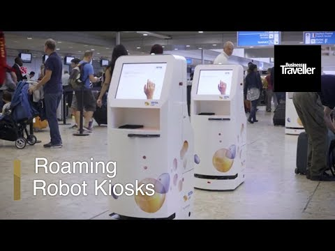 Have You Seen These Robot Check-In Desks? | Business Traveller