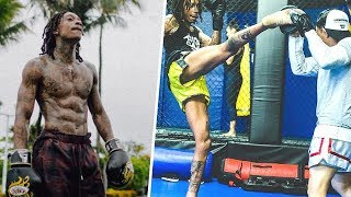 Wiz Khalifa MMA Training and Strength Workout 2018