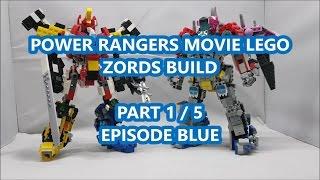 Video Power Rangers 2017 Movie Zords Lego Creation 1/5 - Episode Blue download MP3, 3GP, MP4, WEBM, AVI, FLV Oktober 2018