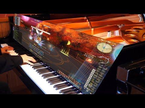 【FF14】 極ツクヨミ BGM Tsukuyomi Extreme Theme 弾いてみた 【ピアノ】 Piano Cover