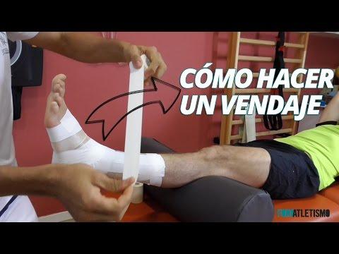 Vendaje funcional de tobillo: cómo hacerlo paso a paso
