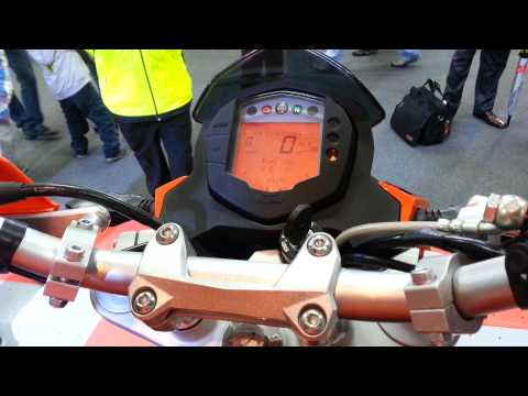 sonido ktm duke 200 2013 Colombia tablero salon del automovil bogota 2012 FULL HD thumbnail