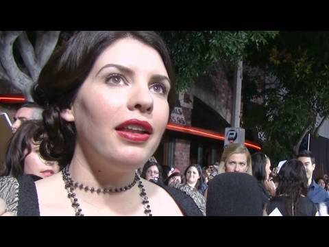 Stephenie Meyer's Advice For Writers! New Moon Premiere