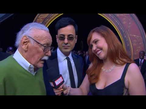 Stan Lee Interview - Avengers Infinity War World Premiere Red Carpet