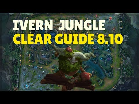Scuttle Crabs Are My Friends! Ivern Jungle First Clear Guide Patch 8.10 (League of Legends)